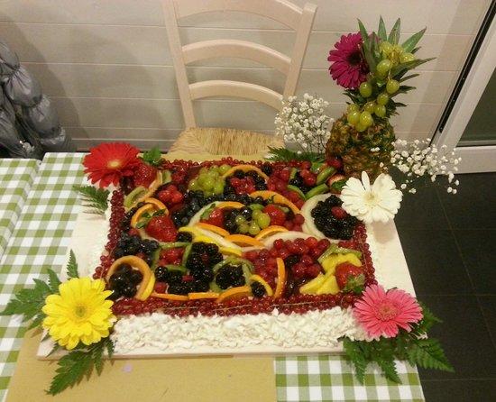 IL Chiosco: Preparata da Ivan, il cuoco del chiosco!!!!!! BELLISSIMA E BUONISSIMA!!!