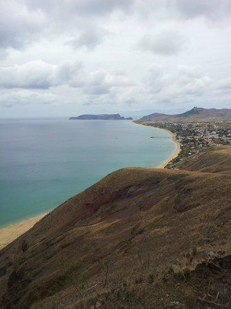 Portela Viewpoint: Vista della spiaggia