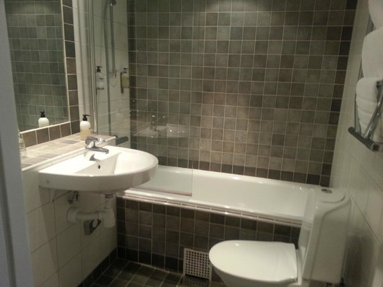Scandic Gamla Stan : Small but nice bathroom