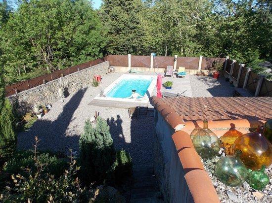 Domaine de Marseillens: Esterno con piscina