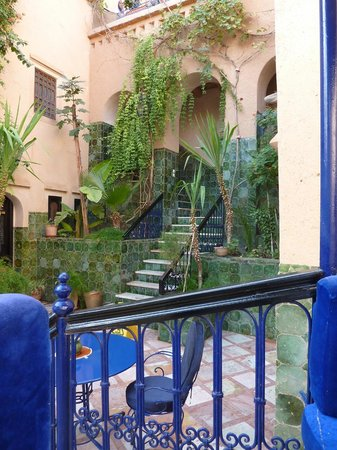 Dar Daif : The Courtyard, and main building entrance