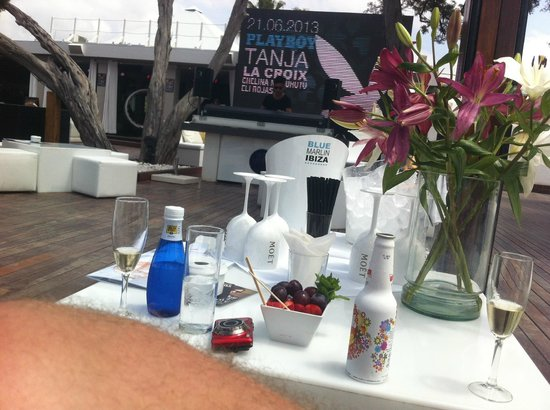 Blue Marlin: Keep the bottles coming all night!