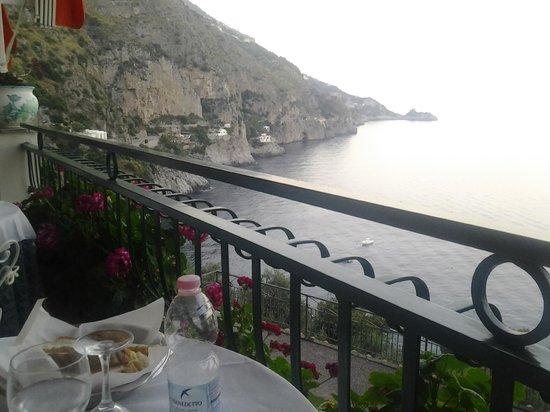 Hotel La Perla : Vista dalla terrazza