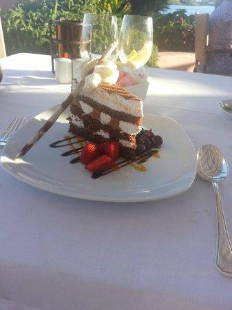 Harley's : Black Forest Cake desert