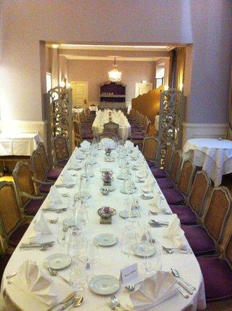 Restaurant Le Relais : Configuration Banquet
