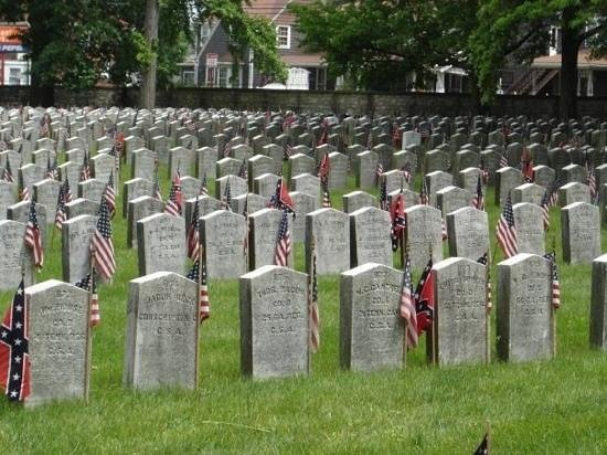 Camp Chase Confederate Cemetery: Camp Chase