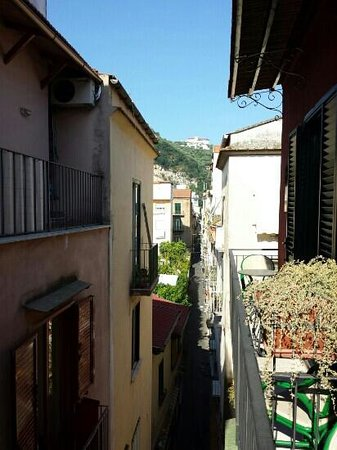 Sorrento Inn Guesthouse: scorcio violetto