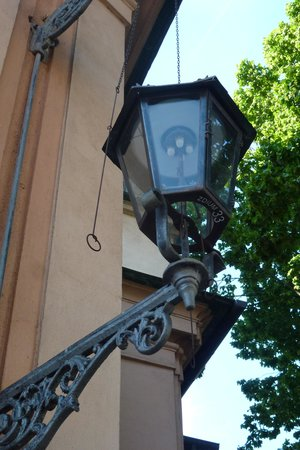 Sofitel Wroclaw Old Town: Working gaslamp in Wroclaw