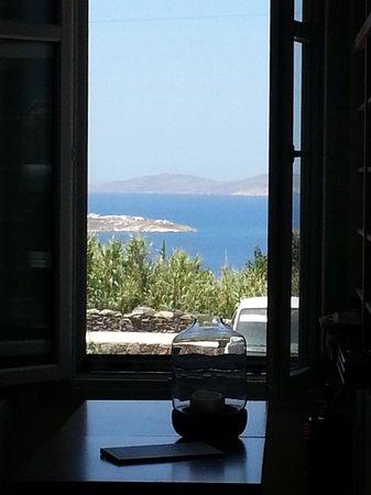 Aegean Hotel: ..dalla mia camera..