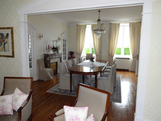 Domaine Champagne Ployez-Jacquemart : The dining room, where you will have a good breakfast!