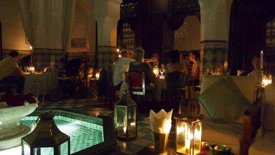 Dar Marjana Courtyard. Night - June 2013