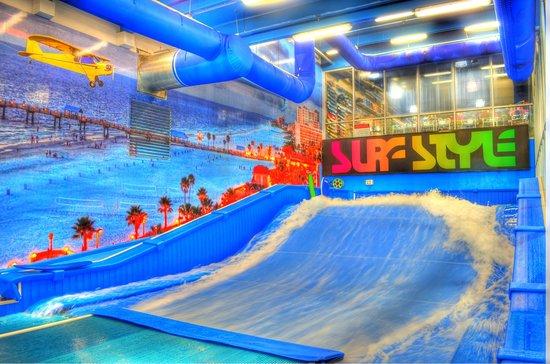 Surf Style Flowrider Indoor Surfing Wave Machine Clearwater