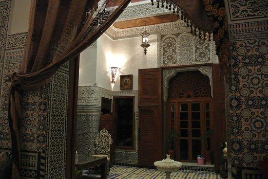 Riad Dar Guennoun : L'ingresso del Riad