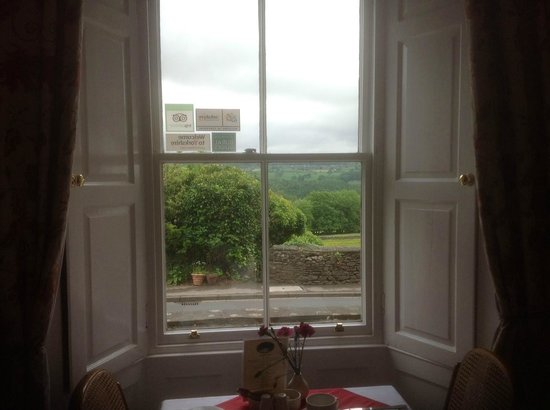The Old Vicarage: View from Breakfast Room