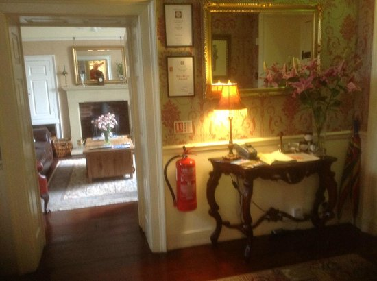 The Old Vicarage: Hall - into Lounge