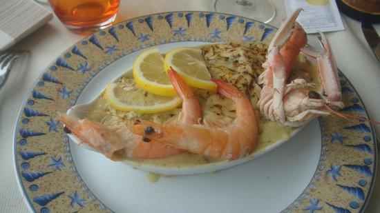 Restaurant Le Homard Bleu: entree