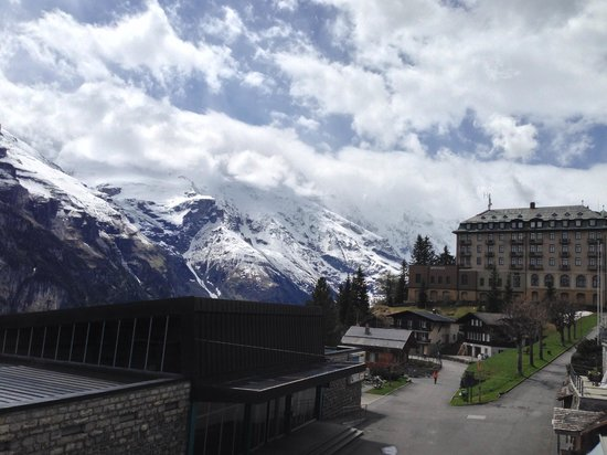 Eiger Guesthouse: View from our balcony!