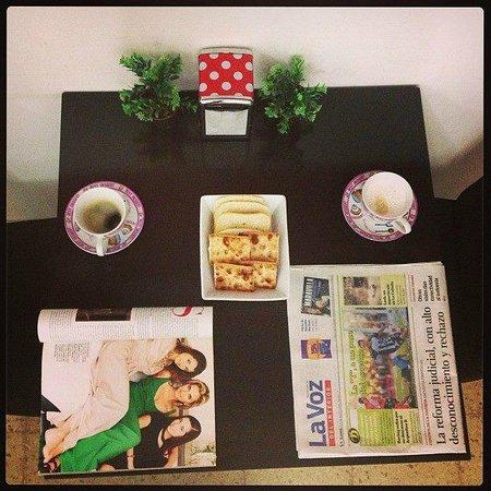 Cordoba Inn Apart Hotel: Breakfast