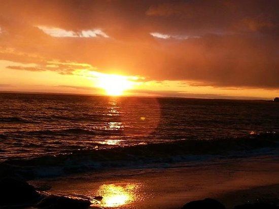 Sea Crest Beach Hotel: Sea Crest on the Cape, beach at sunset