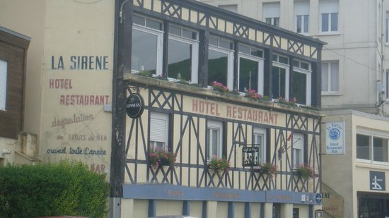 Hotel restaurant photo de hotel restaurant pub la sirene for Hotels yport