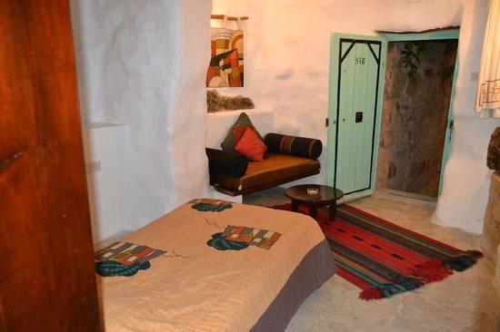 Taybet Zaman Hotel and Resort : Camera.. senza finestra