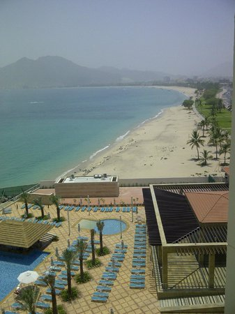 Khorfakkan, United Arab Emirates: Ocean view