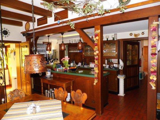 Bettelhaus: Frühstücksraum