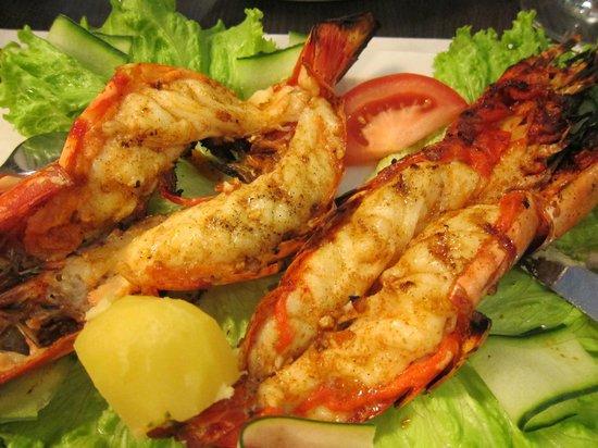 Casinha do Petisco : Giant prawns