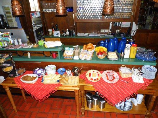 Bettelhaus: Unser Frühstücksbuffet