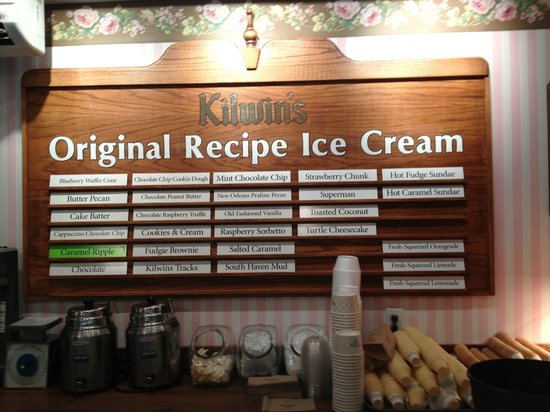 Kilwins Chocolates : So many choices!