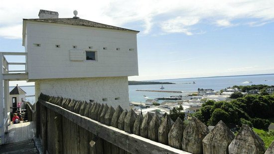 Fort Mackinac: View from the fort