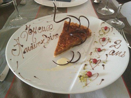 Le 541 : Dessert personnalisé - surprise du chef !