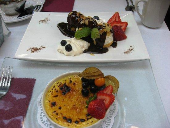 L'Accent : Amazing dessert!