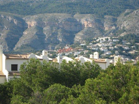 Hotel SH Villa Gadea: View of Altea Hills from 3rd floor