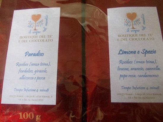 Vendita E Degustazione Te E Del Cioccolato