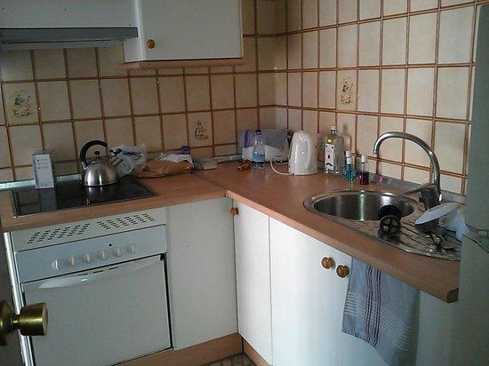 Apartamentos Carlos V: Kitchen