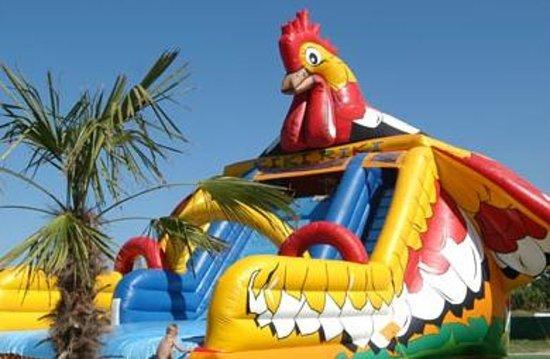 Hotel Francesca - Gobbi Hotels: Gonfiabile gallo