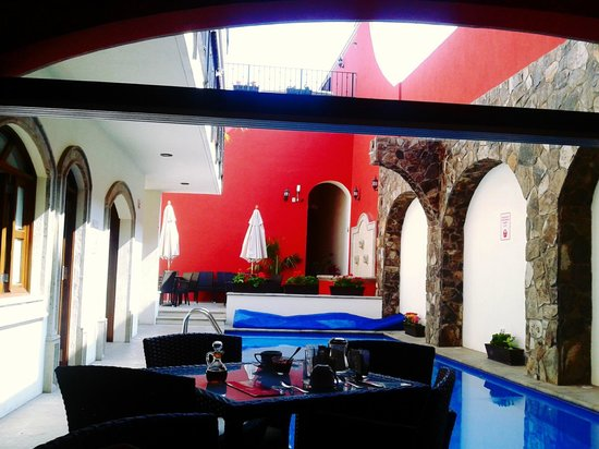 Hotel San Xavier: Comedor