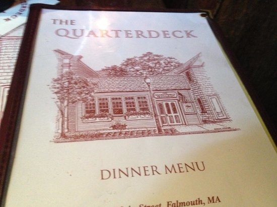 Quarterdeck Restaurant: menu