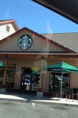 Starbucks Seating Outside