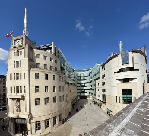 ลอนดอน, UK: BBC Broadcasting House  (Jeff Overs)