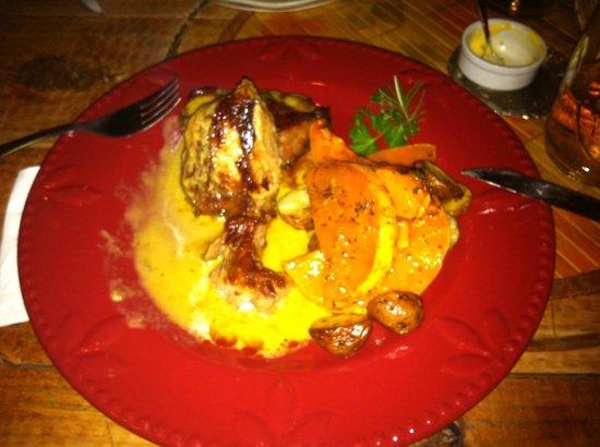Si Querida: Pork Steak with cream sauce