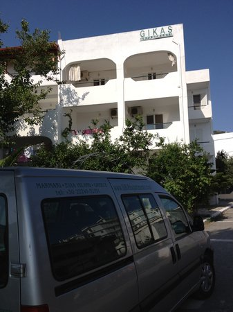 Gikas Apartments : hotel area