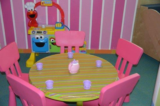 Azul Beach Resort Riviera Maya: Kids Club is a wonderful play environment!