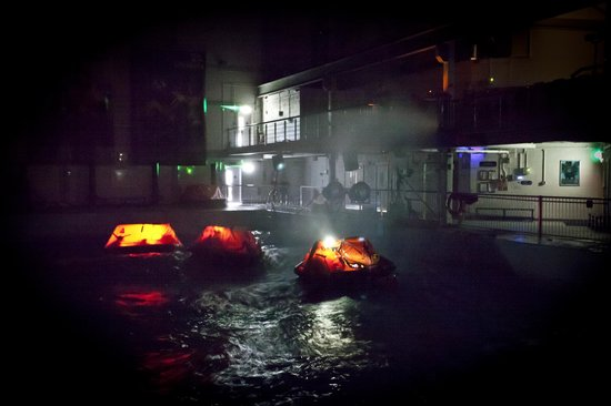 RNLI College: Sea Survival Tank