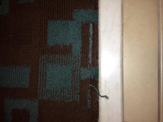 Hilton Garden Inn Clarksville: Worn Carpet