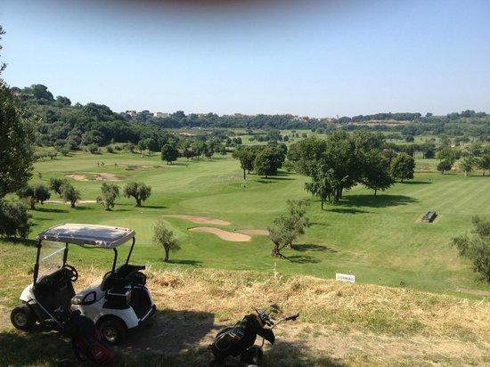 Castelgandolfo Golf and Country Club : vista sul campo da golf