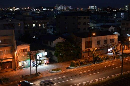 Osaka Bay Plaza Hotel : view from room