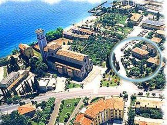 Hotel Igea: veduta aerea con in evidenzia l'hotel