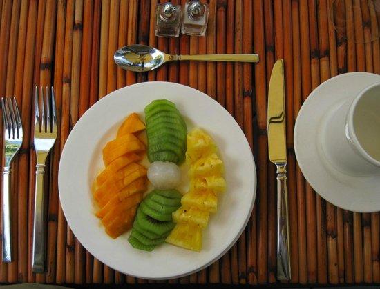 Ohi'a Park Estate: Breakfast 2